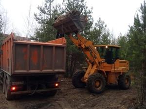 Гигантскую свалку объемом 1300 кубометров ликвидируют в Дзержинске