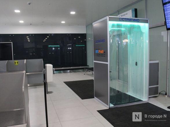 Уникальные дезинфекционные тоннели появились в нижегородском аэропорту - фото 9