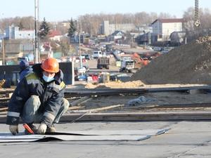 Строительство транспортной развязки в Ольгине готово на 20%