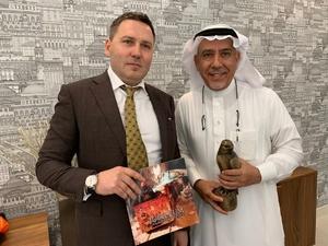 Нижегородский сокол «поселился» в Саудовской Аравии