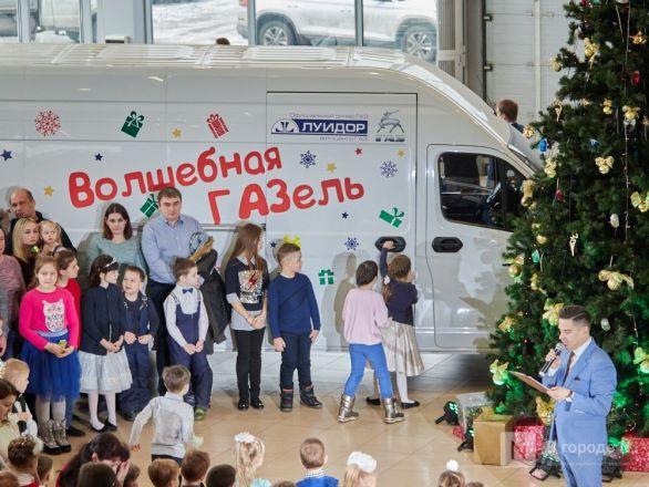 «Луидор» устроил новогоднее гулянье для сотен нижегородцев и их детей - фото 19