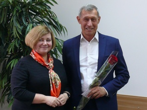 Сергею Горину вручили удостоверение депутата гордумы Нижнего Новгорода