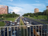 Огромные пробки образовались на выездах из Нижнего Новгорода