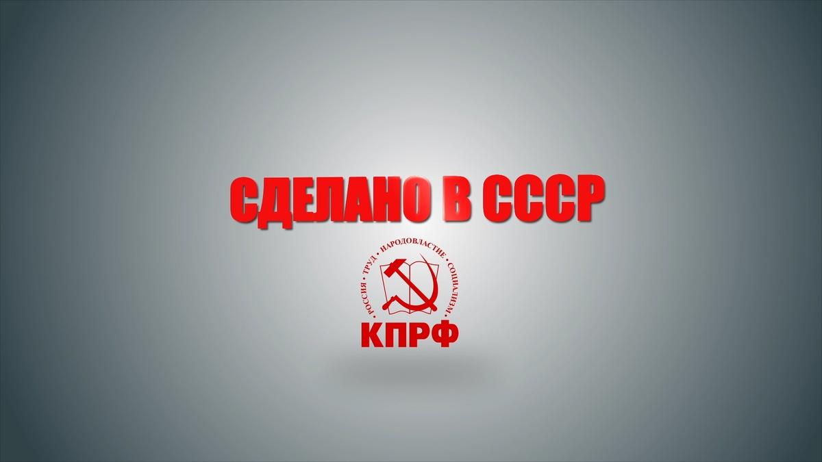 Коммунисты возродили программу «Сделано в СССР» - фото 1