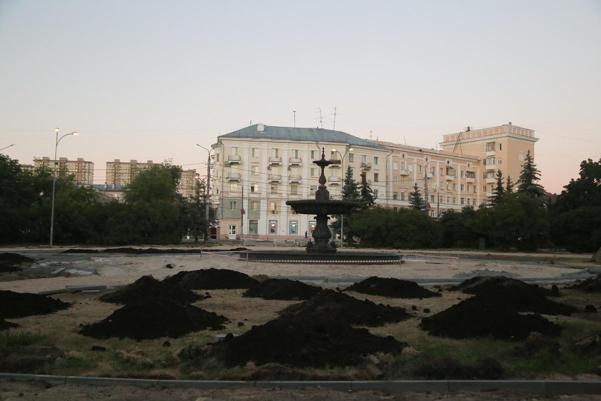 Фонтан у ДК Ленина в Нижнем Новгороде запустят 15 июля - фото 1