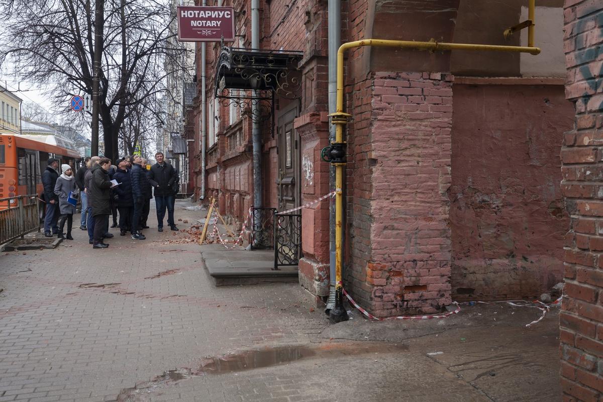 Фасады приведут в порядок на центральных улицах Нижнего Новгорода - фото 1