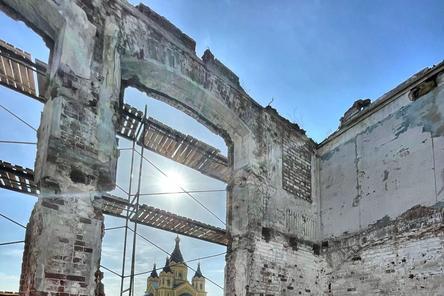 Реконструкция здания фильтровальной станции на нижегородской Стрелке завершится к июлю