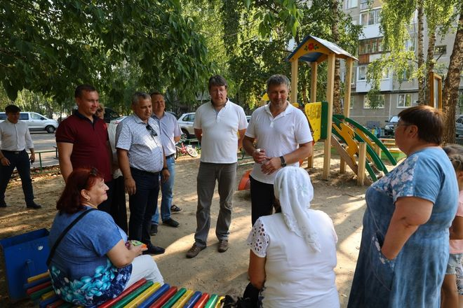 Благоустройство дворов в Дзержинске выполнено на 50% - фото 4