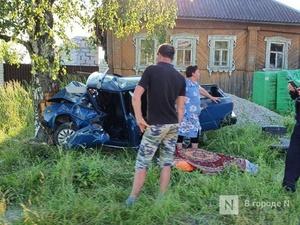 Мужчина погиб в аварии в Выксунском районе