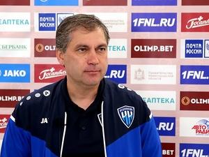 Роберт Евдокимов: «Была игра в одни ворота, особенно во втором тайме»
