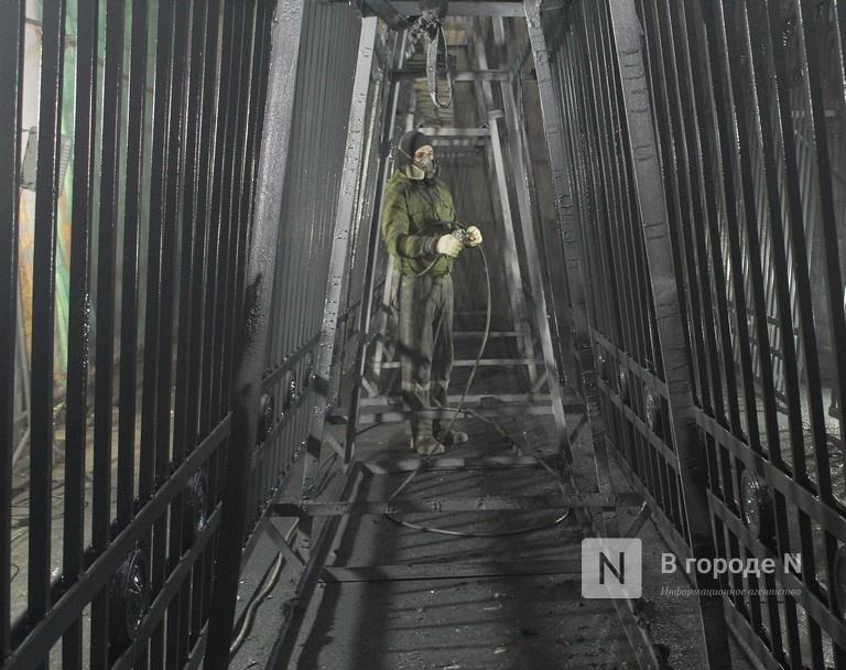Как идет реставрация исторической ограды парка «Швейцария» - фото 10