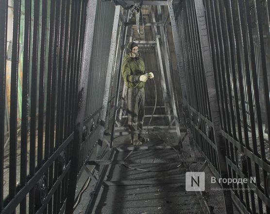 Как идет реставрация исторической ограды парка «Швейцария» - фото 20