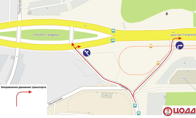 Схема предоставлена Центром организации дорожного движения Нижнего Новгорода