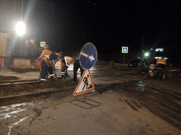 Трамвайные пути отремонтировали на шести нижегородских улицах - фото 1