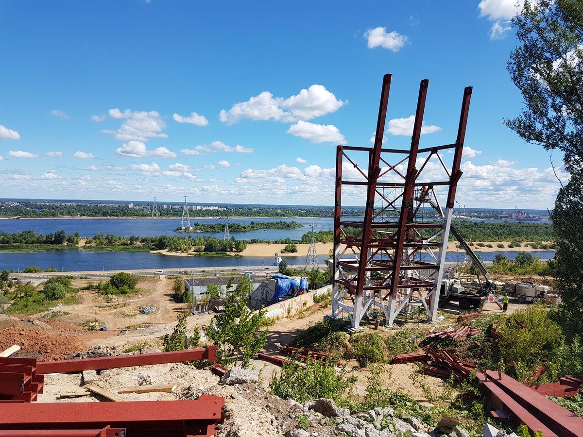 Нижегородский трамплин К-60 построен более чем на 50% - фото 1