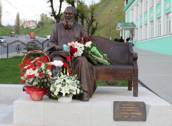 Памятник митрополиту Николаю появился в Нижнем Новгороде - фото 22