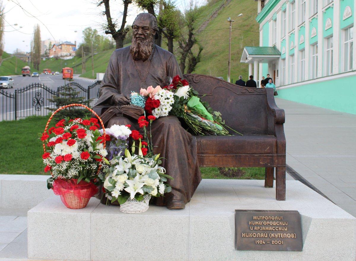 Памятник митрополиту Николаю появился в Нижнем Новгороде - фото 1