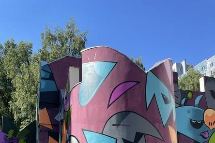 Стрит-арт по соседству: прогулка по городу красок