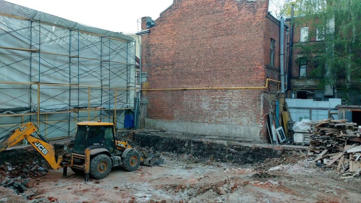 В Нижнем Новгороде снесли «Шахматный дом», чтобы отстроить его заново - фото 2